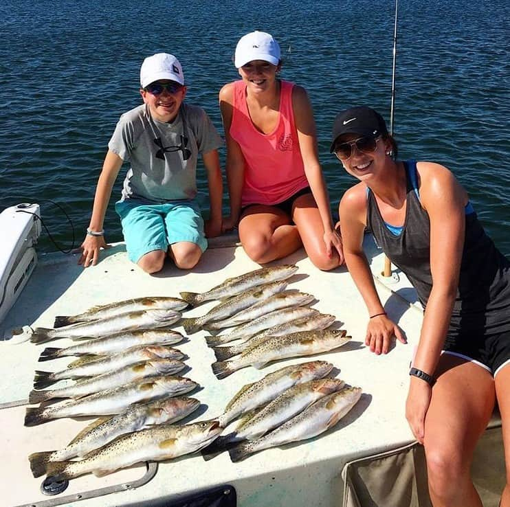 cortez fishing charters trout