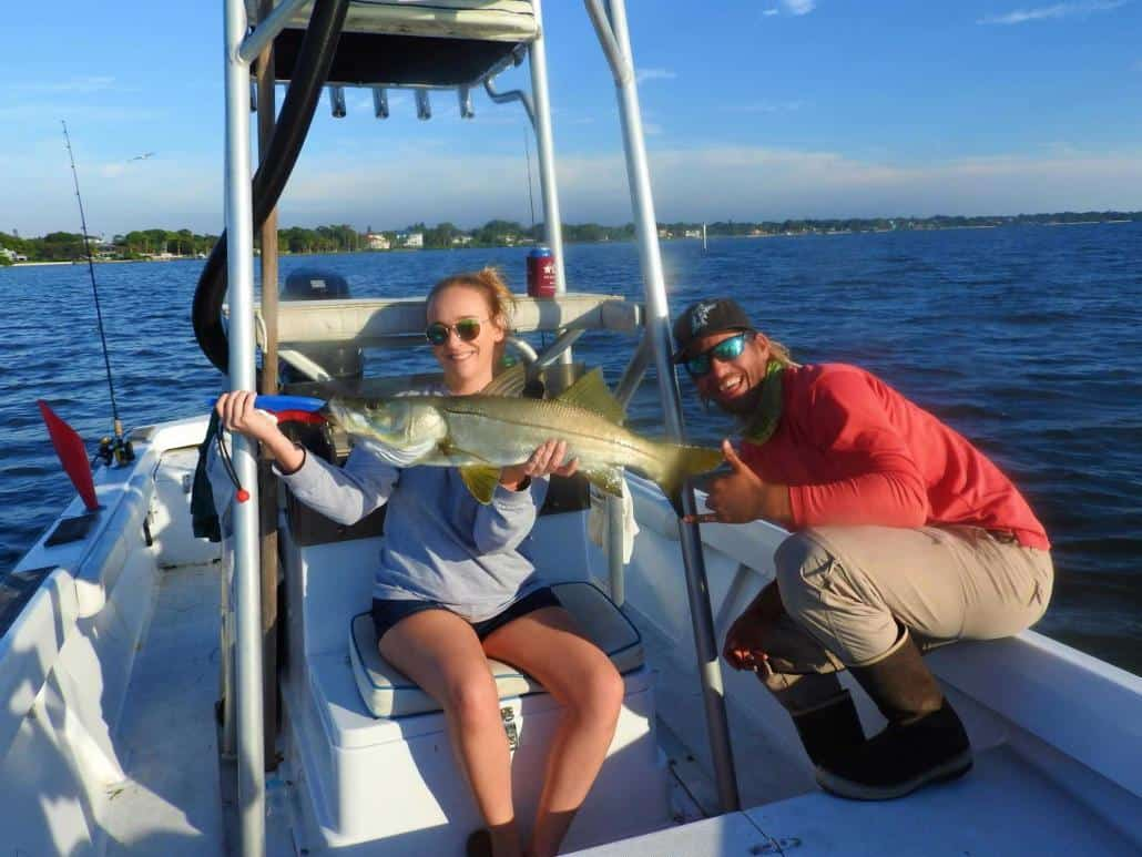holmes beach fishing charters snook