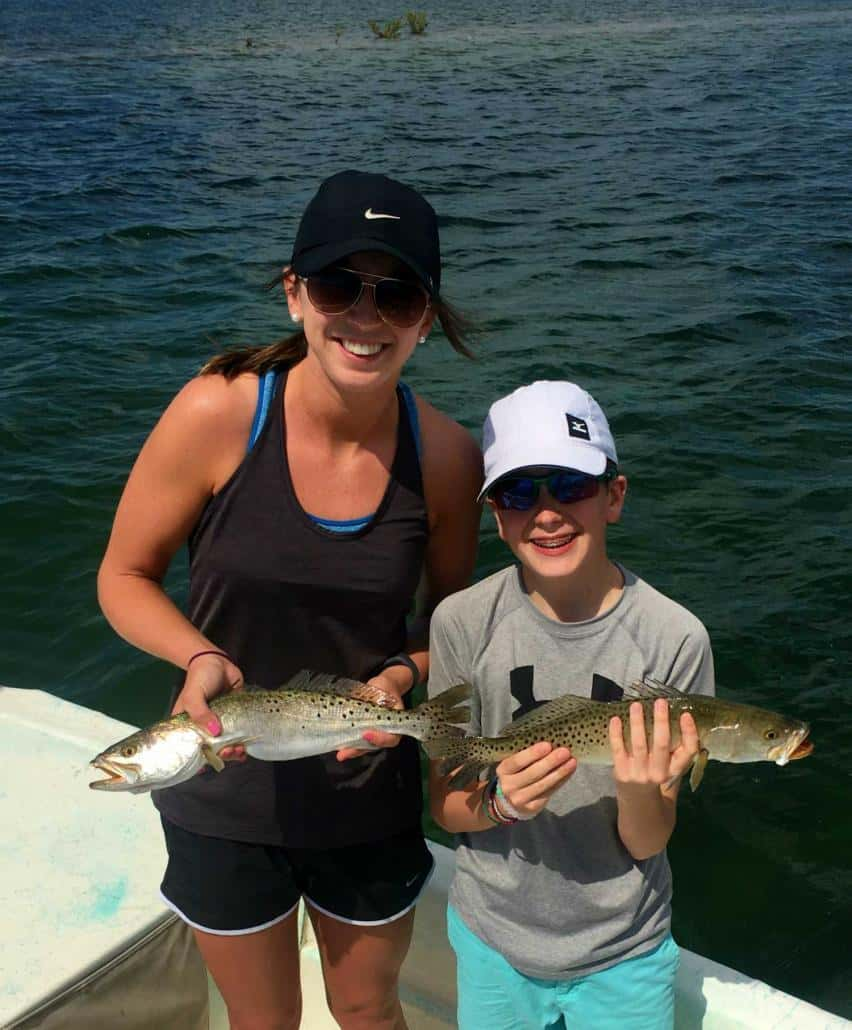 palmetto fishing charters trout
