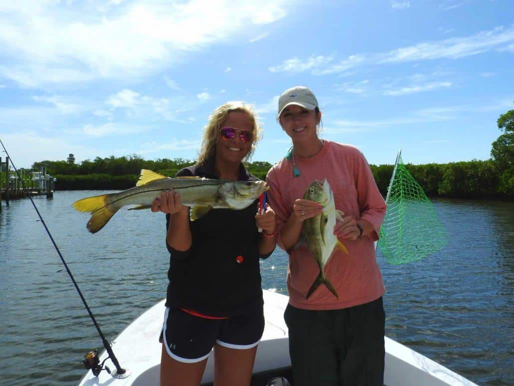 tampa bay fishing charters snook